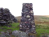 trig point on Kentmere Pike